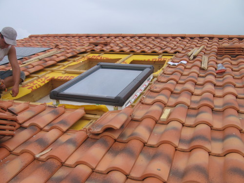 installation, fenetre, toit, maison, décoration, isolation thermique