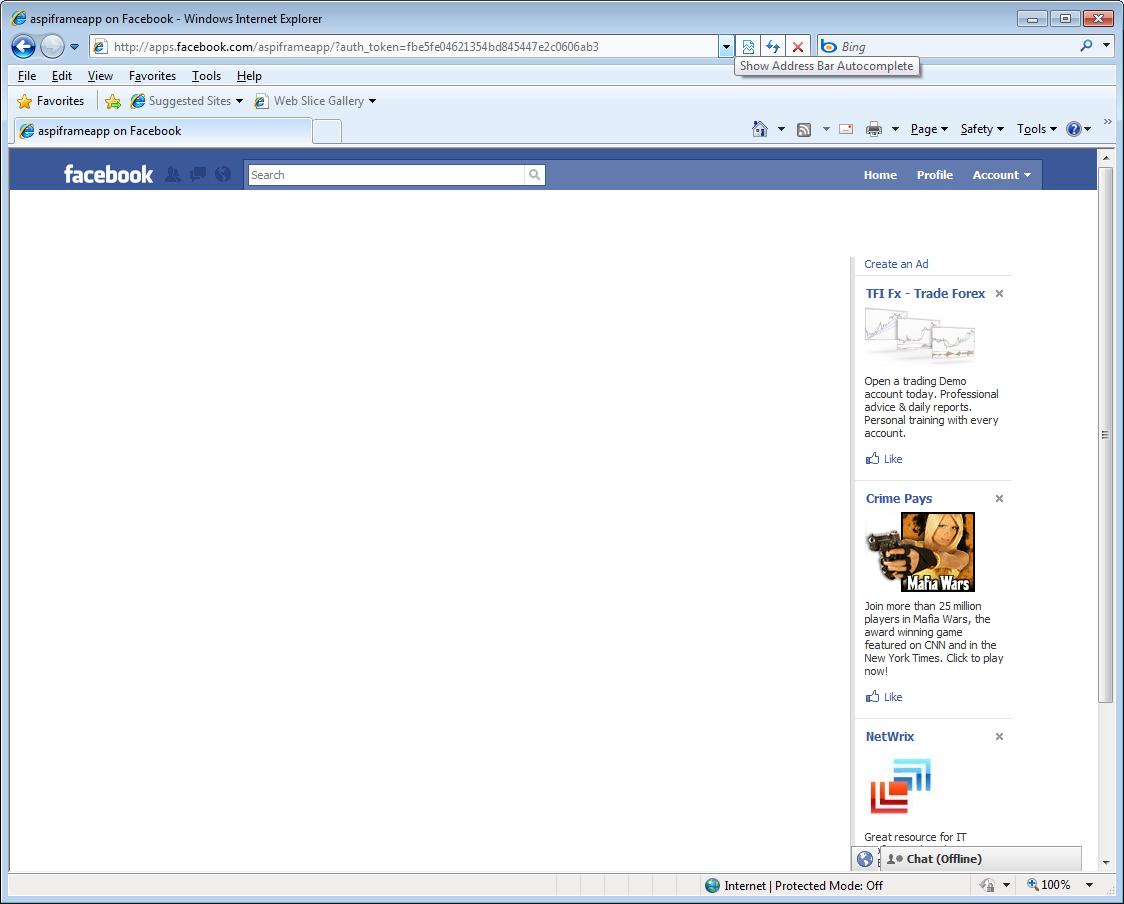 Tout le monde connaît ou a déjà entendu parler des applications facebook.