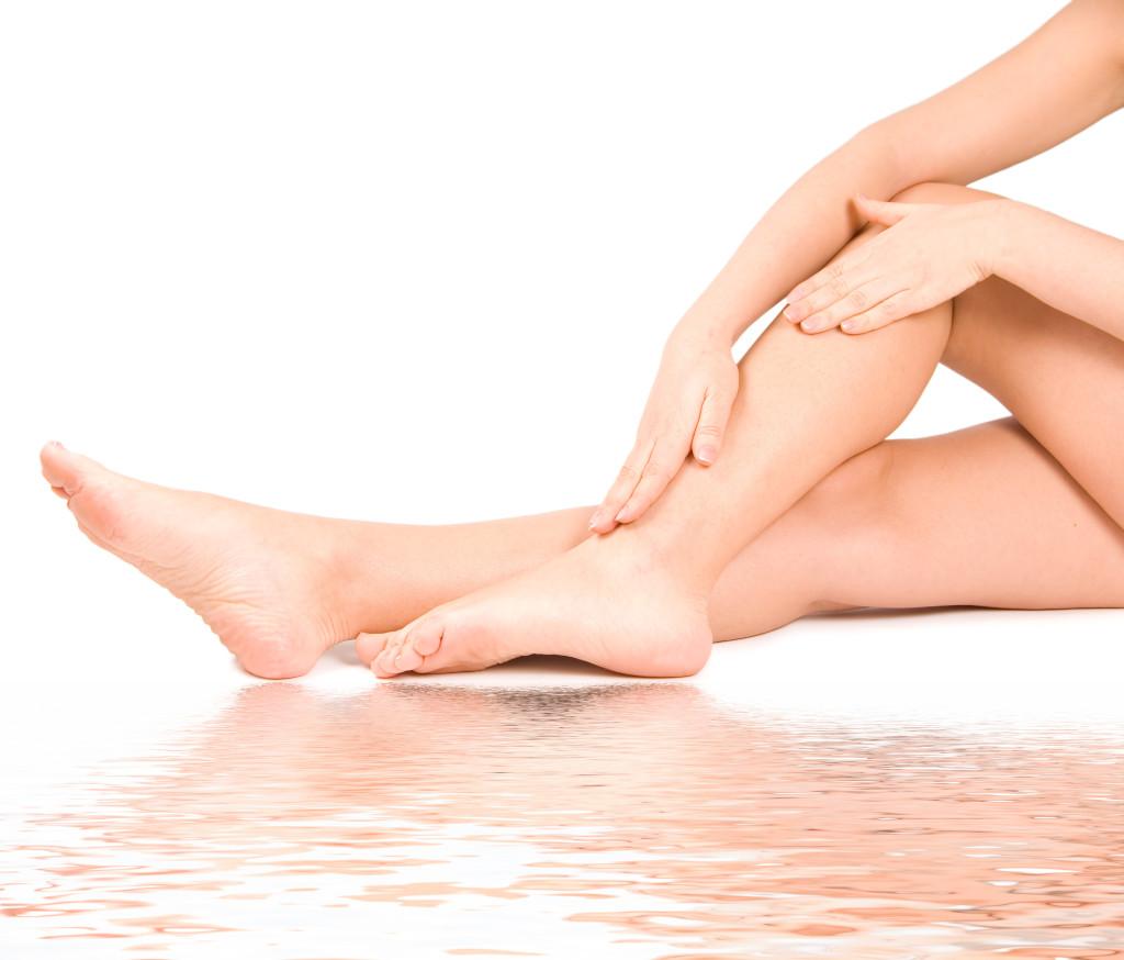 Les jambes subissent donc de nombreuses contraintes.