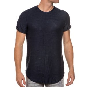 t-shirt-bleu-navy-homme-oversize