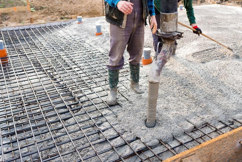Une dalle en béton réussi, gage d'une fondation bien solide